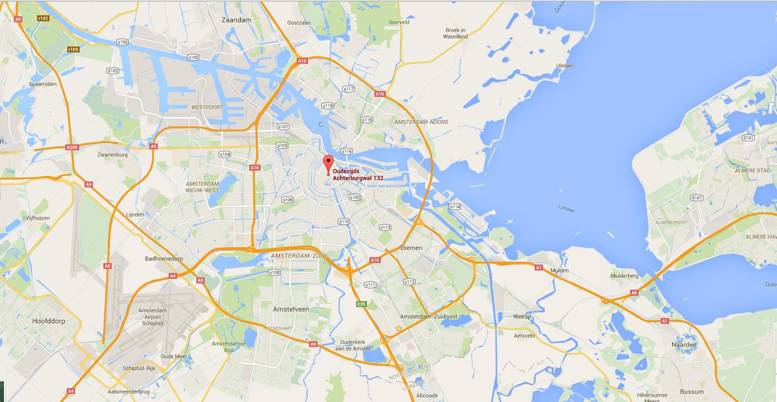 Maps-Amsterdam